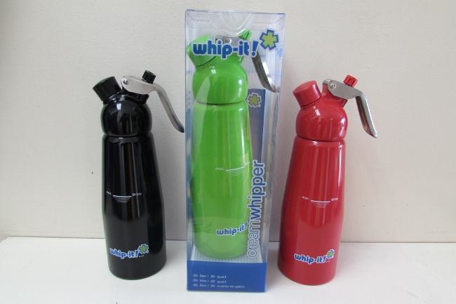 Whip It Dispenser ~ Whip it l pro plus dispenser mix colors
