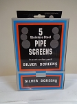 Pipe Screens ( Buy 12 boxes $ 4.50 Each )
