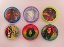 Bob Marley 2 Part Plastic Grinder ( Buy 20 Pc $ 0.80 Each )H357B