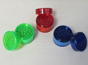 Colored 3 part Plastic Grinder