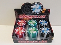 3 Part Poker Chip Grinder 1CT AA-71(Buy 6 pcs $3.99)