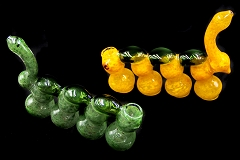 570Gr. Solid Colored 4 Chamber Glass Bubbler