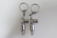 Small Metal Pipe Keychain (Buy 6pc $2.50)
