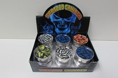 3 Part Camo 51mm Grinder (Buy 12pc $2.50 each)