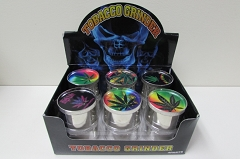 4 Part Leaf Design 51mm Grinder (Buy 12pc $2.99 each)