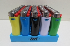 MK Solid Colored Lighter 50ct ZY-7G-MK-Grip (Similar to Bic)