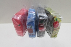 1.25x1.25 Colored Apple Baggies