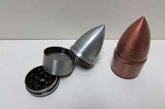 Cone Shape Metal 3 Part Grinder (Buy 12pc $1.99 each)