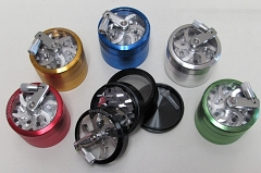 Sharpstone 4 Part 63mm Mixed Colors Metal Grinder (Buy 10pcs $7.99 each)