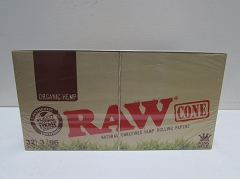 Raw Organic King Size Cone