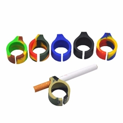 Silicone Cigarette Holder Ring (Mixed Colors) (Buy 50pc $0.40 each)