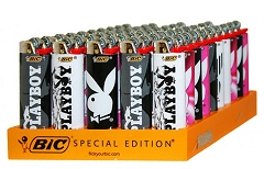 Bic Playboy Lighters 50ct (New)