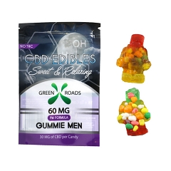 Green Roads CBD Edibles 2 Gummie Men 60mg (Sweet & Relaxing)