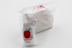 1.25x1.0 Clear Apple Baggies