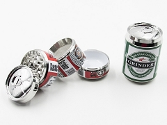 4 Part Big Beer Metal Grinder (Buy 6pc Display $4.50 each) #3
