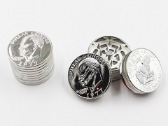 3 Part Small Coin Metal Grinder (Buy 12pc Display $1.99 each) #1