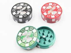 2 Part Metal Poker Grinder (Buy 12pc Display $1.99 each) #7
