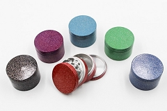 56mm Rough Textured Colored Aluminum Grinder