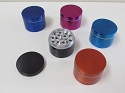 50mm 4 Part Solid Colored Grinder (Buy 3pc $2.75)