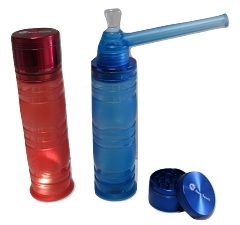 Grinder w/ Stem & Pipe Attachment (Becomes a Water Bubbler) (Buy 12pc $8.99 each) 5990