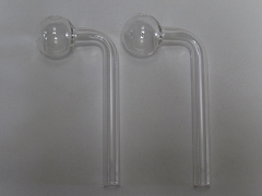 Clear L Shape Thick Oil Burner 20ct