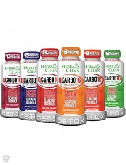 Herbal Clean Carbo 16oz Detox (Mixed Flavors)
