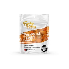 Funky Farms Tropical Fruit CBD Gummies ( 50mg )