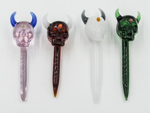 Colored Skull Head Dabber
