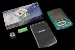 Digiweigh POSEIDON 100g/0.01g POCKET SCALE IN GREEN DW-100POS-G