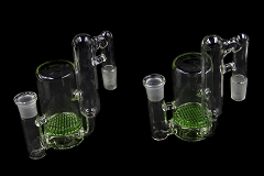 19mm Clear Green Big Honeycomb Side Car Ash Catcher