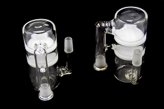 14mm Male Female 2 Honeycomb Glass Ash Catcher