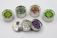 3 Part Metal Designs Grinder AA-59 (Buy 12pc $3.50)