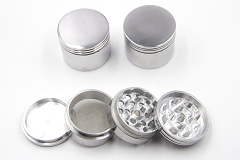 53mm 4 Part Aluminum Grinder (Buy 6pc $2.50 Each)