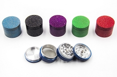 42mm Rough Textured Colored Aluminum Grinder