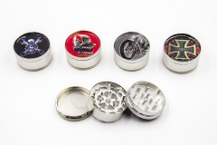 3 Part Bike Design 51mm Grinder (Buy 12pc $2.50 each)