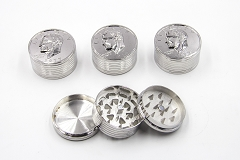 3 Part Coin Head Grinder AA-163 1CT (Buy 3pc $2.99 each)