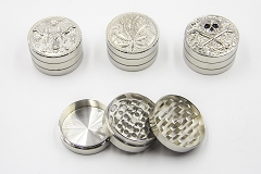3 Part Diff Designs Carved Grinder 1CT AA-78 (Buy 3pc $3.75)
