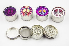 4 Part Peace Design 51mm Grinder (Buy 12pc $2.99 each)