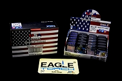 Eagle Torch U.S. Flag Design Torch Lighter 20ct Display Box PT113US