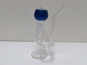 Clear Handle Bubbler W/ 14mm Female Honey Bucket Bowl
