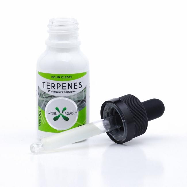 Green Roads CBD Terpenes Oil 15ml Bottle 100mg (Choose Flavor)
