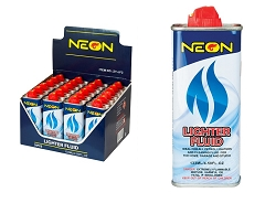 Neon 4.5oz Lighter Fluid 24ct Display Box