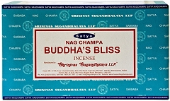 Nag Champa 15gms 12 packs/box Buddha's Bliss Incense