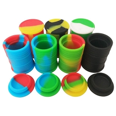 11ml Oil Drum Colored Silicone Container