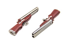 Double Barrel Shotgun Double Flame Lighter 20ct  GH-2441