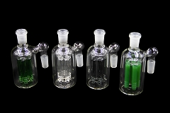 14mm Colored Arms Perc Clear Glass Ash Catcher