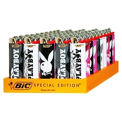Bic Playboy Lighter 50ct Display