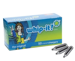 Whip-it Brand Whip Chargers 50ct (Buy Case of 12 box $22.99 each)