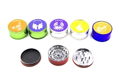 51mm 3 Part Zodiac Design Metal Grinder (Buy 12pc Display Box $1.99 each) GR041-CCHS