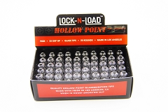 Lock N Load 9mm Ammo Bullet Glass Tips 50ct Box